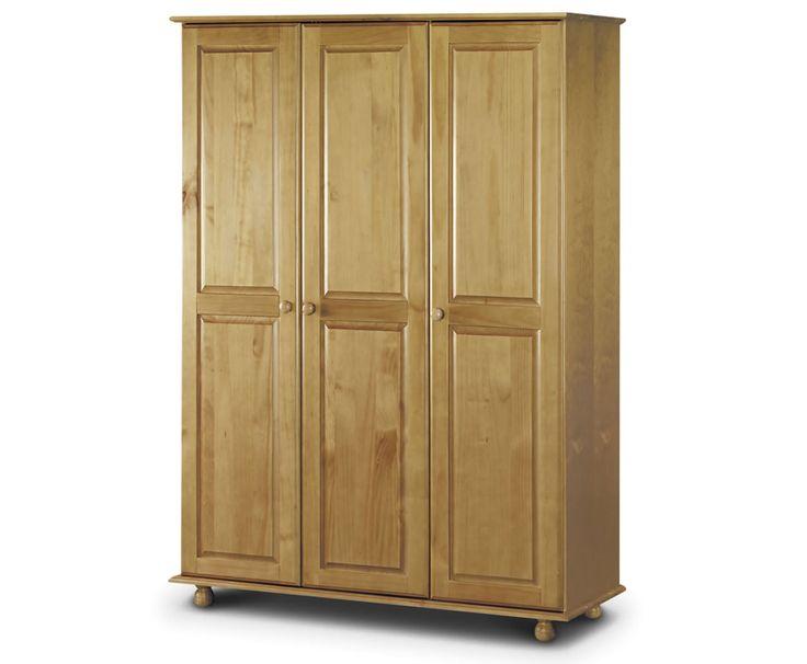 pickwick 3 door pine wardrobe AGUJSDJ