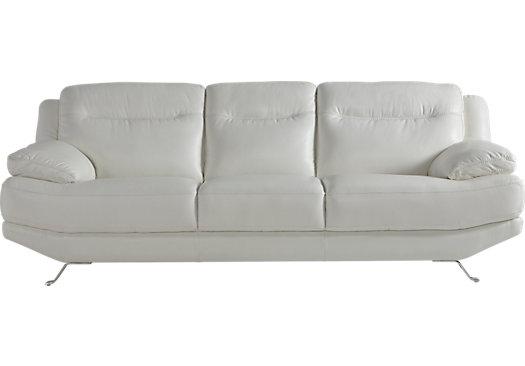 picture of sofia vergara castilla white leather sofa from leather sofas  furniture ZTMZRGF