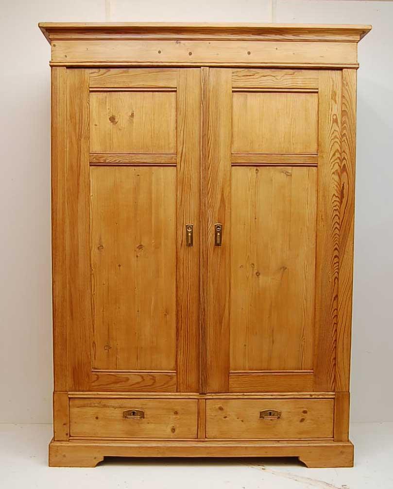 pine wardrobe closet CUDRBPD