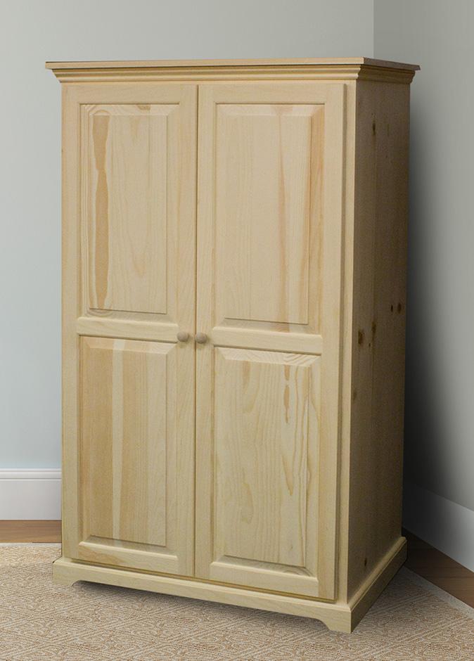 pine wardrobe EBXCGDZ