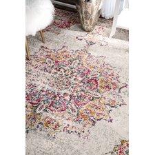 pink rugs darchelle beige/pink area rug DVBBHKP