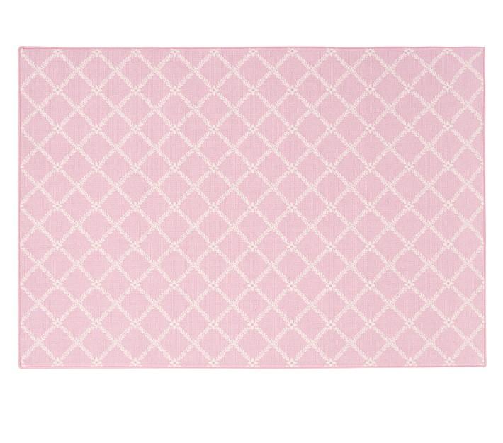 pink rugs stark milan rug - pink | pottery barn kids SKWCBTG