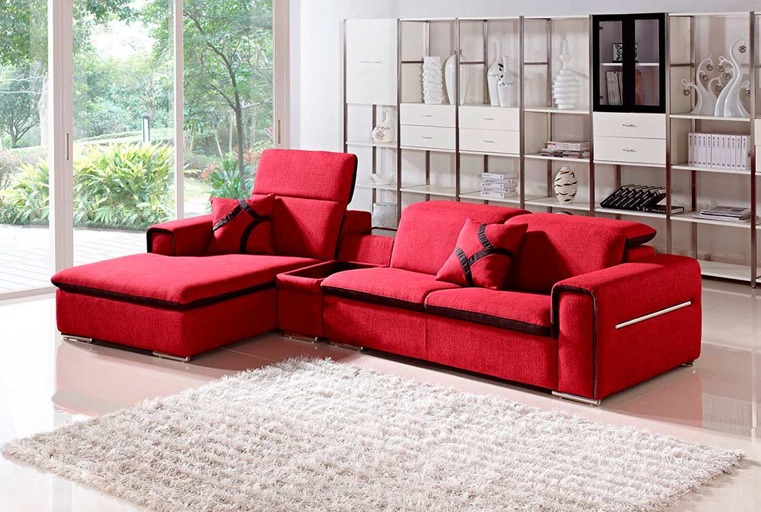 pit sectional couch | red sectional sofa | buy sectional sofa GZGTHAR