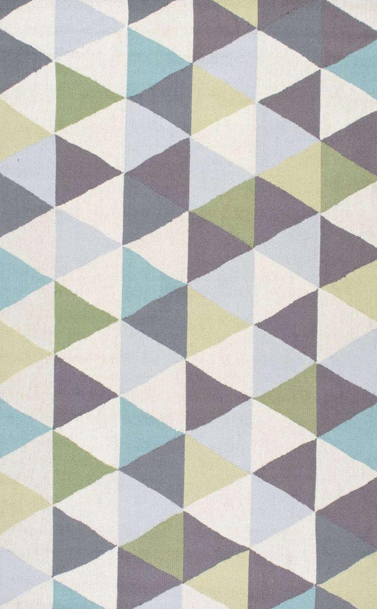 playroom rugs homespunhk110 dimensional triangles rug. playroom ... RAJEVOX