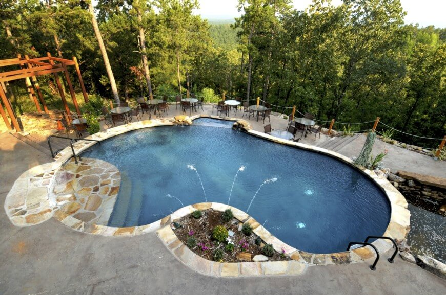 pool designs concrete-swimming-pool BSYDCLW