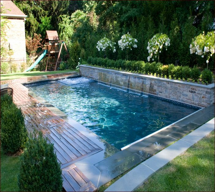 pool designs small inground pools for small yards NUZLJQE