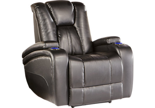 power recliners kingvale black power recliner BKINQWY