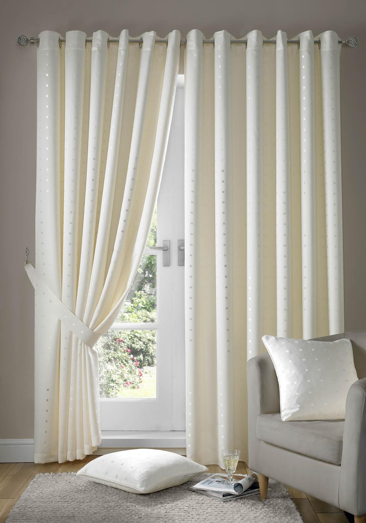 projects ideas cream curtains plus madison eyelet lined curtains cream NTHESDK