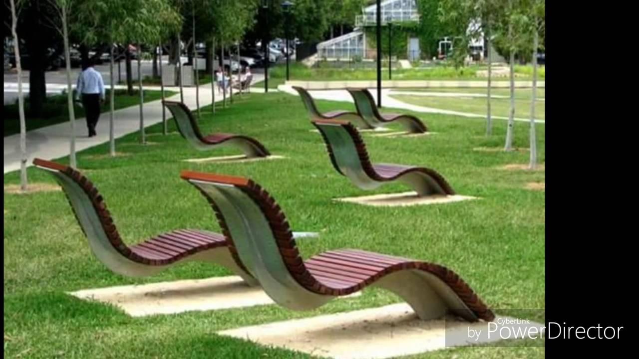 public benches design - urban furniture NXRDBOW