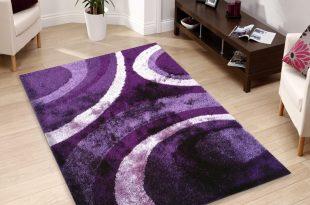 purple rugs floral purple indoor bedroom shag area rug 5u0027 x 7u0027 ft. WOVDAOU
