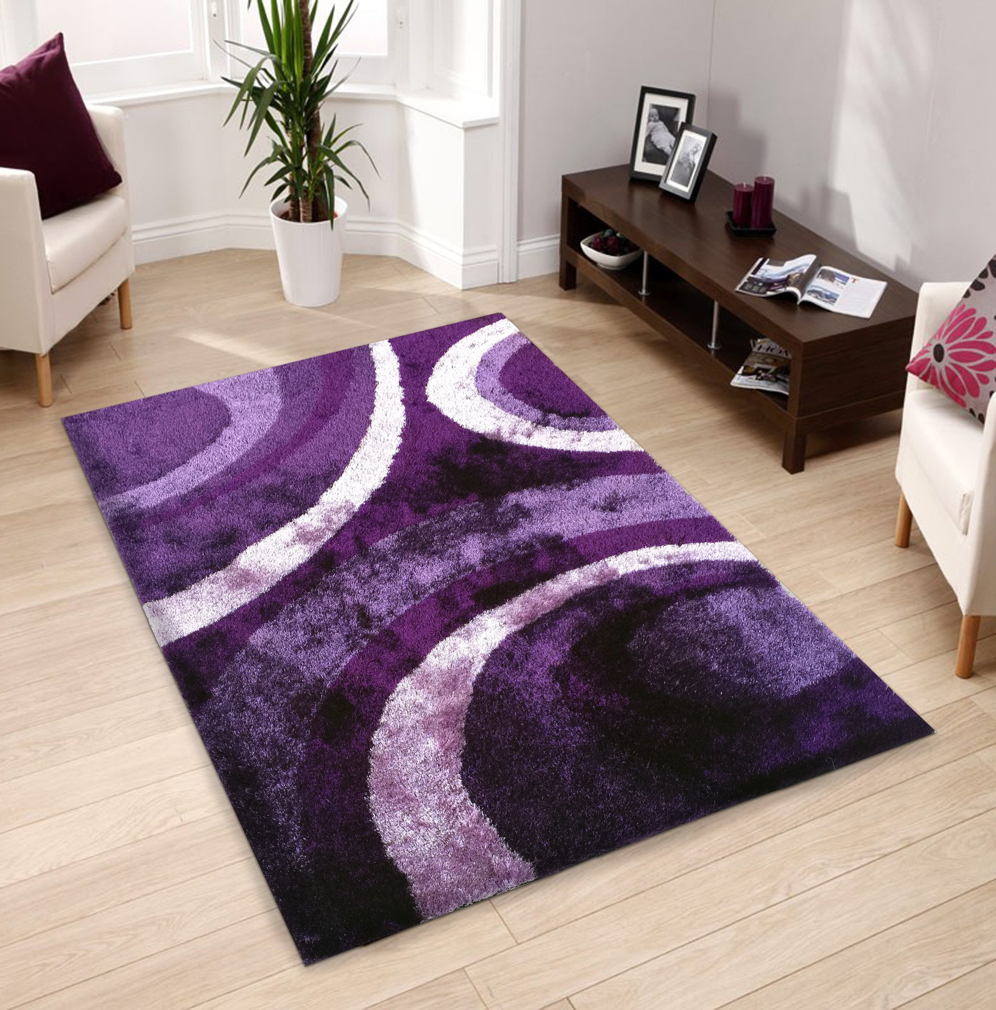 How to find cheap purple rugs?