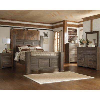 queen bedroom sets driftwood rustic modern 6 piece queen bedroom set - fairfax JYWWJBQ