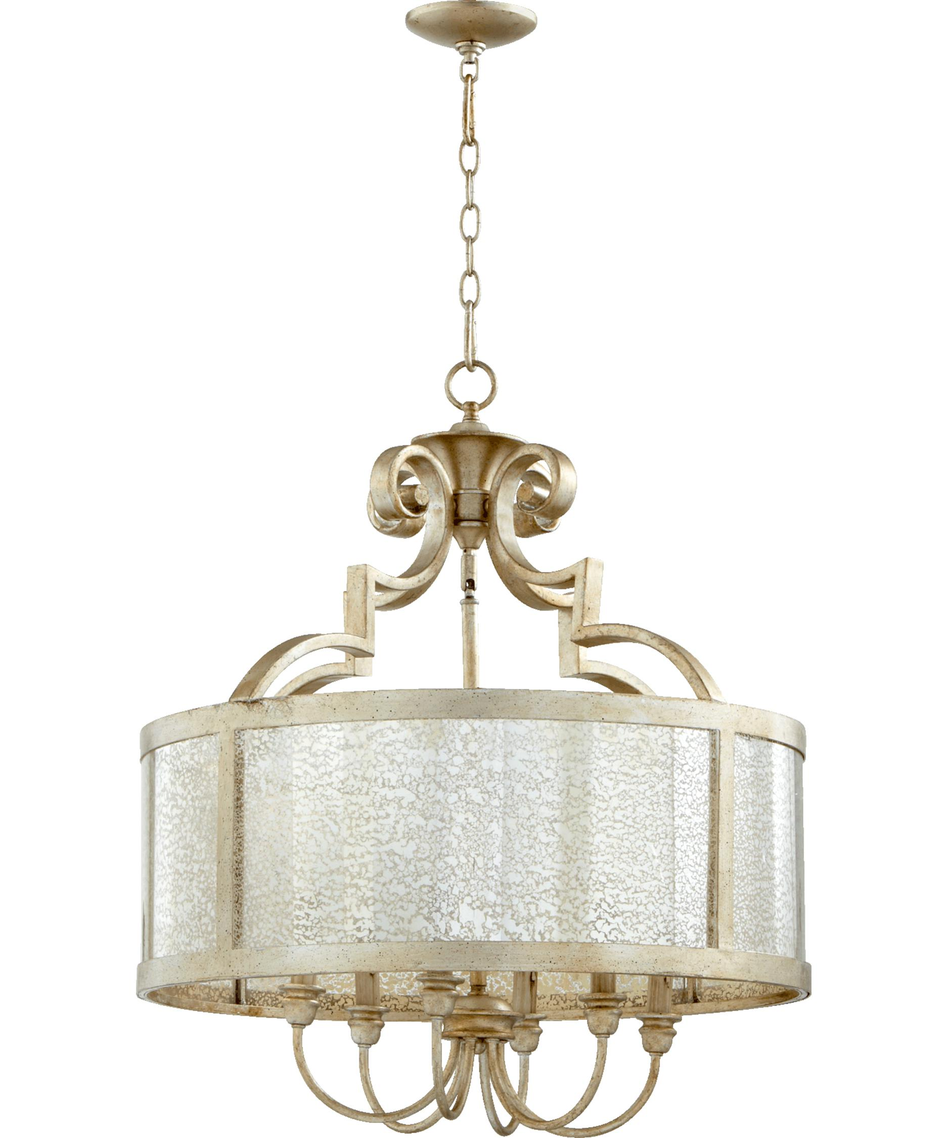 quorum lighting quorum international 6481 champlain 24 inch wide 6 light chandelier |  capitol FDJDSMG
