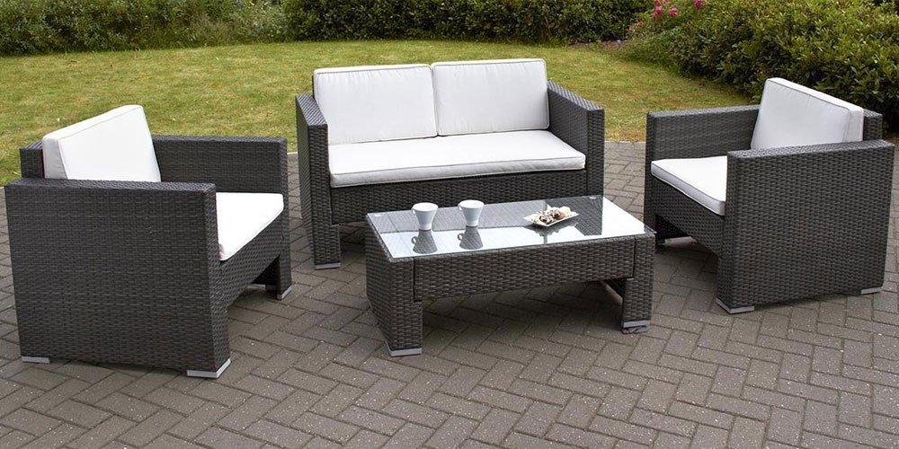 rattan effect garden furniture amazoncouk garden furniture accessories garden outdoors IURFKKY