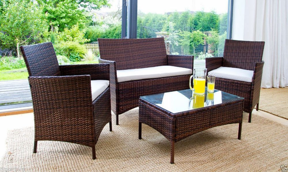 Benefits of rattan effect garden furniture