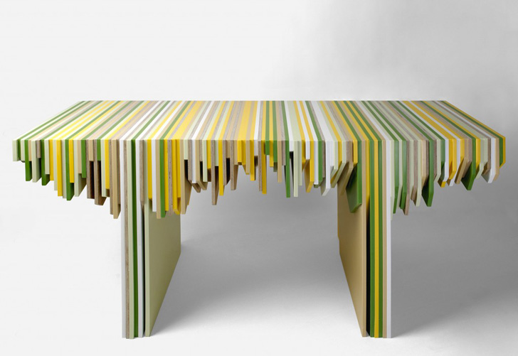 recycled furniture designer rabih hage uses leftover corian to create fantastic furniture  recycled corian XWFYBIP