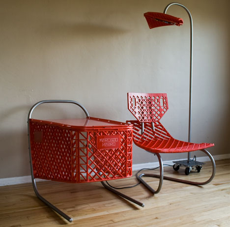 recycled furniture recycled shopping carts: 3-piece living room furniture set FGIYKMN