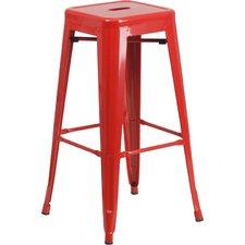 red bar stools barchetta 30 NBGZSYW
