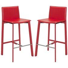 red bar stools carrillo 30 QQXIGHM