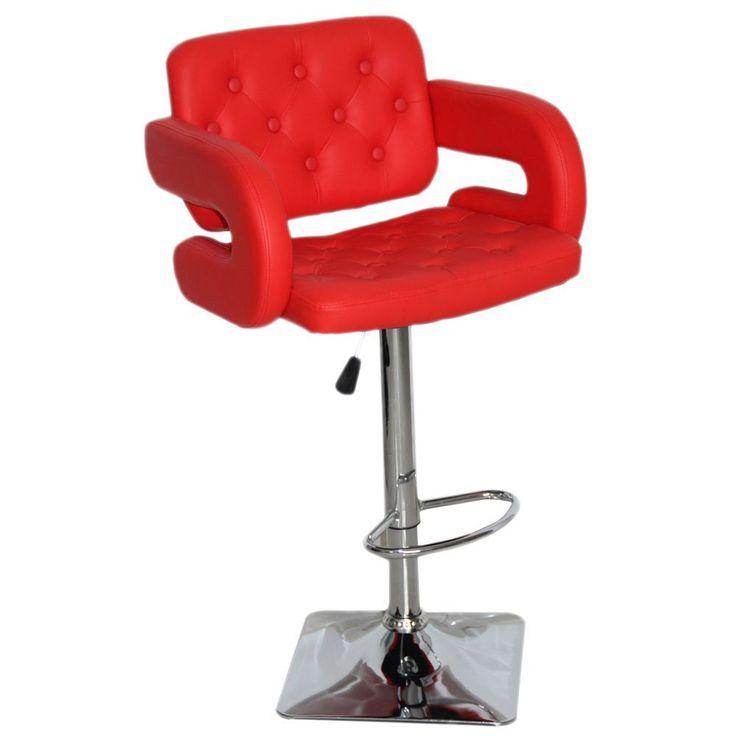 red bar stools olivia adjustable swivel bar stool (olivia red bar stool) (faux leather) IHAVQFZ