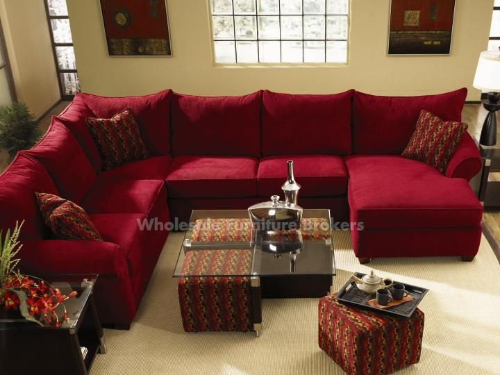 Get the best of the red sectional sofa