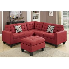 red sectional sofa red sectional sofas | wayfair NFCPGQU
