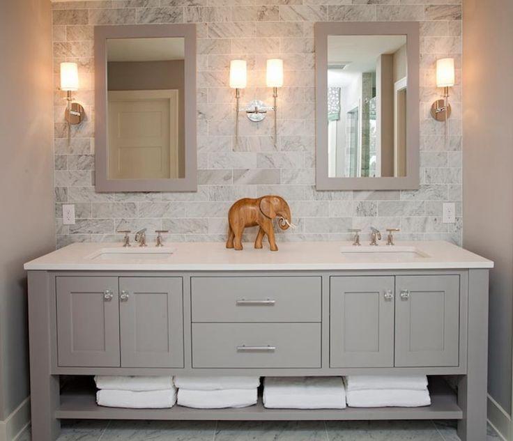 Designs for double sink vanity