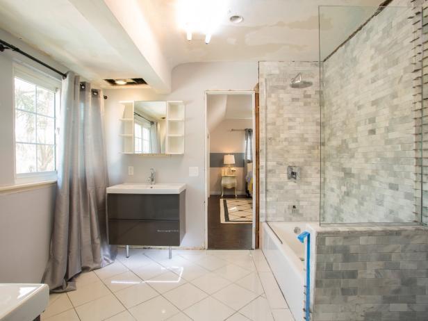 Remodeling bathrooms bathroom makeover ideas, pictures u0026 videos | hgtv JZNLGKO