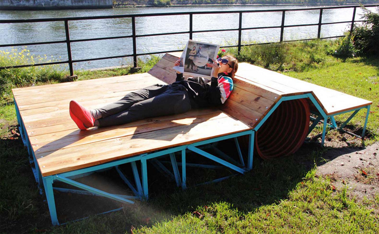 reshtki turns unwanted u201ctrashu201d into comfortable and stylish urban furniture    inhabitat JTUKSCK