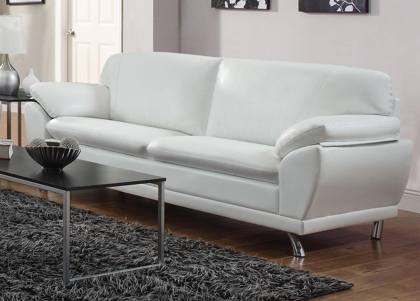 How to keep your white leather sofa clean