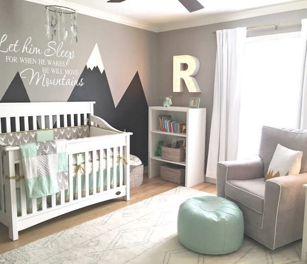 rocky mountain baby room themes | baby room themes: 21 ways to design NYCVHZF