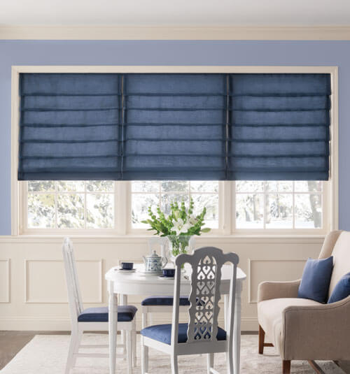 roman shades bali® tailored roman shade in dover rainy afternoon and drapery in bavaria FYMECCS