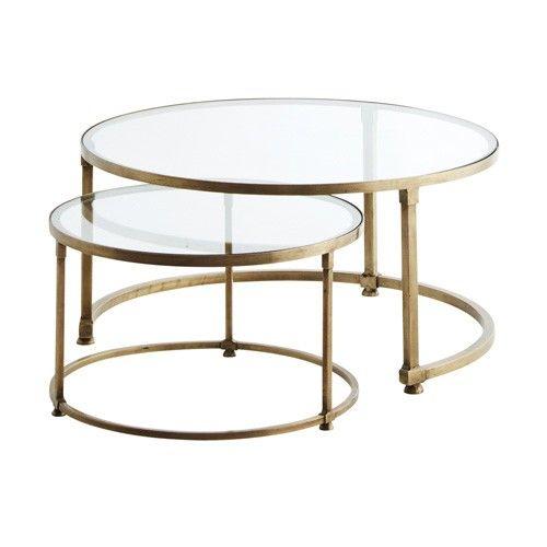 round glass coffee table nesting round glass coffee tables more BJFIBIJ