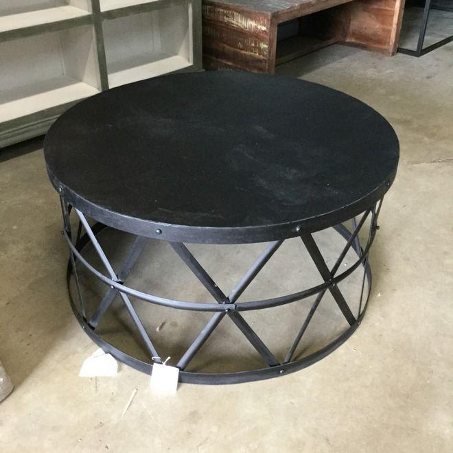round metal coffee table more GUVMNTK