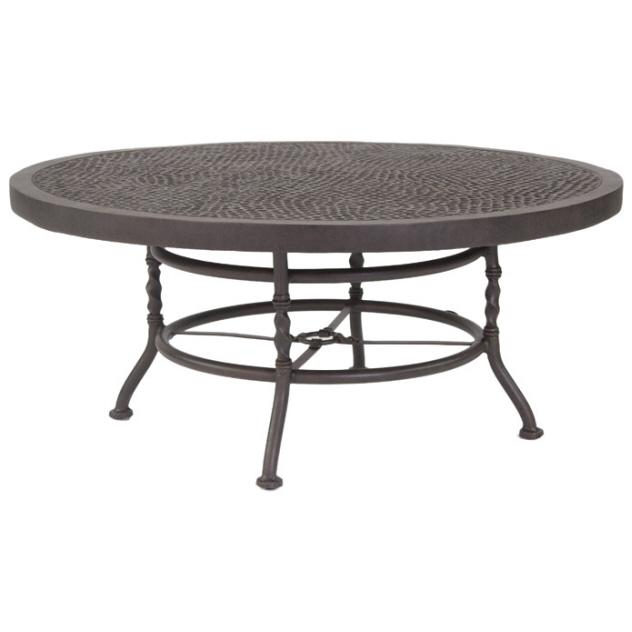 round patio table coffee table outdoor round sunnyland patio HBZBRLU