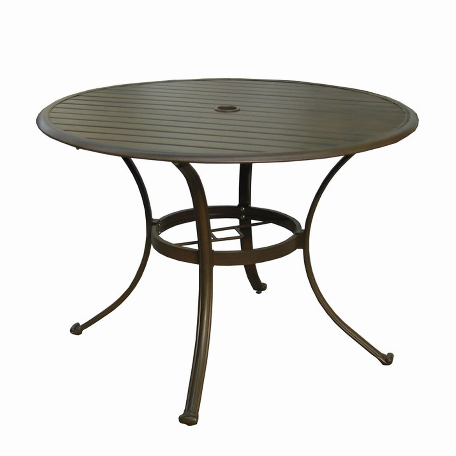 round patio table glass patio table umbrella insert 03037023 ongek net MIVGUNR