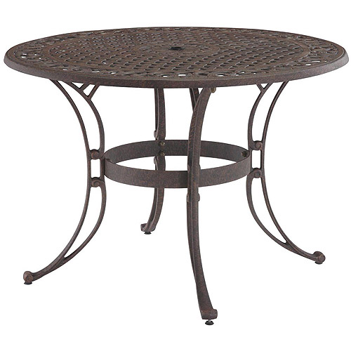 round patio table home styles biscayne 48 SYQWQTI