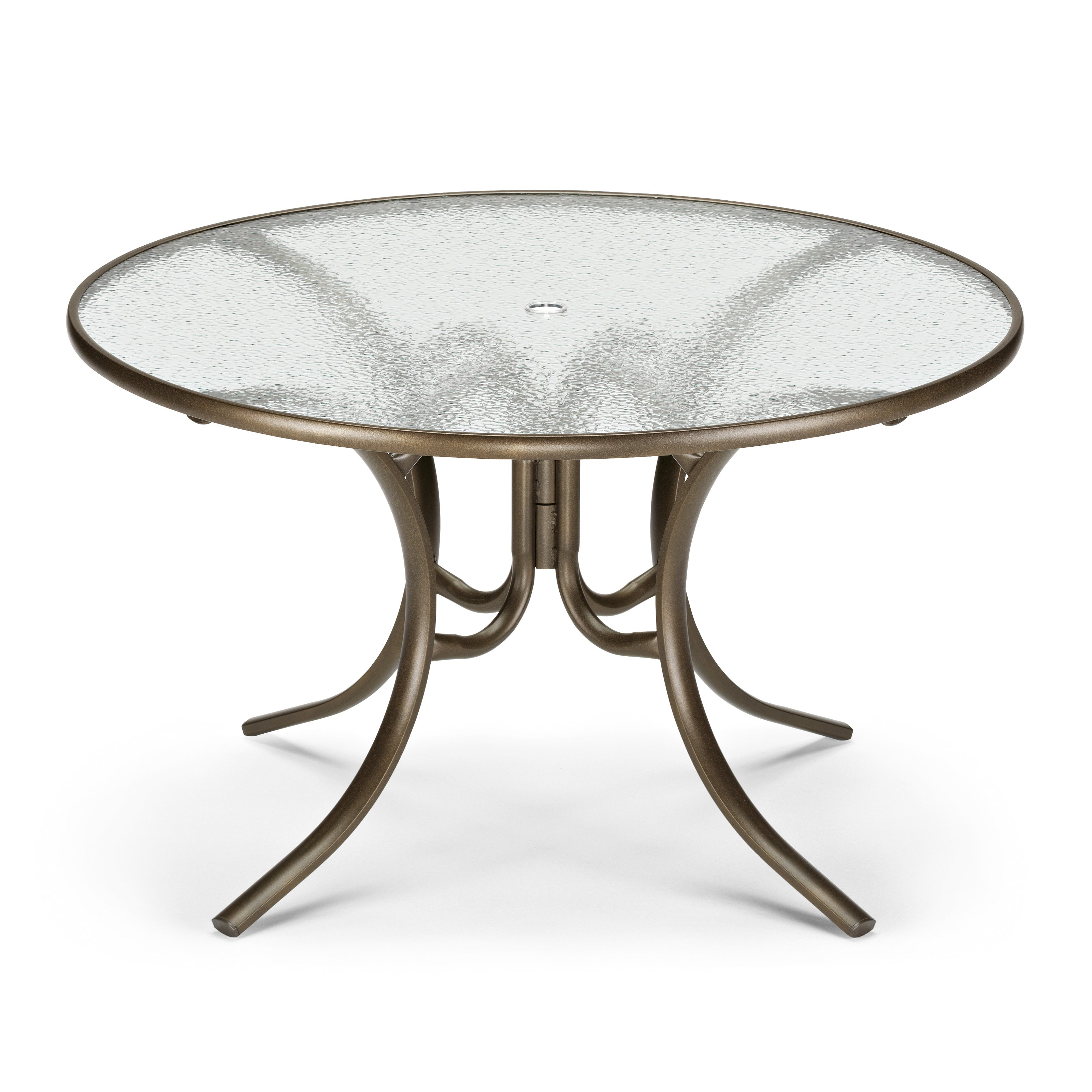 round patio table round glass top patio dining table - patio dining tables at hayneedle GENDWNF