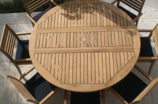 round patio table royal teak round drop leaf patio dining table - patio dining tables at KZQQFNS