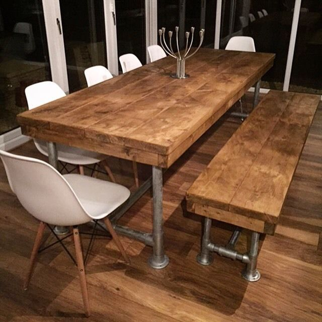 rustic dining table best 25+ rustic dining tables ideas on pinterest DLTUMKN