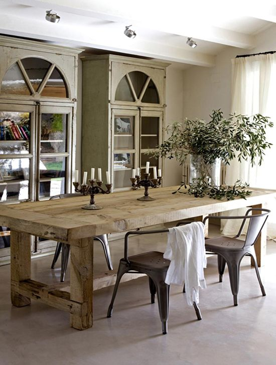 rustic dining table find this pin and more on dining tables. BSEDIJI