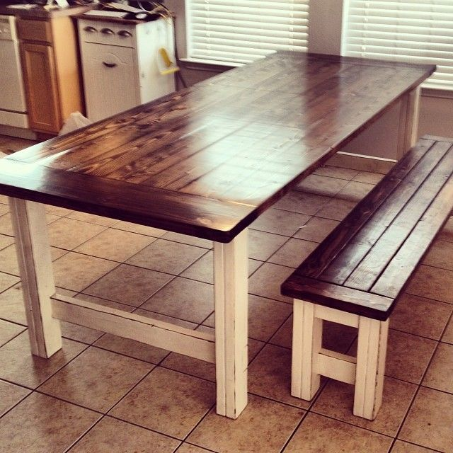 Bring rustic dining table to add charm to your house