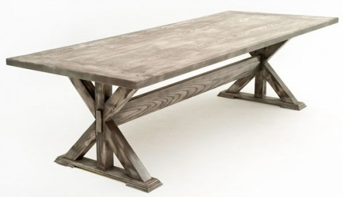rustic dining tables ... contemporary rustic dining table VGPCFYR