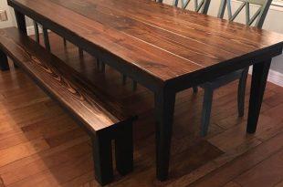 rustic dining tables james+james 9u0027 x42 UIZWXUK