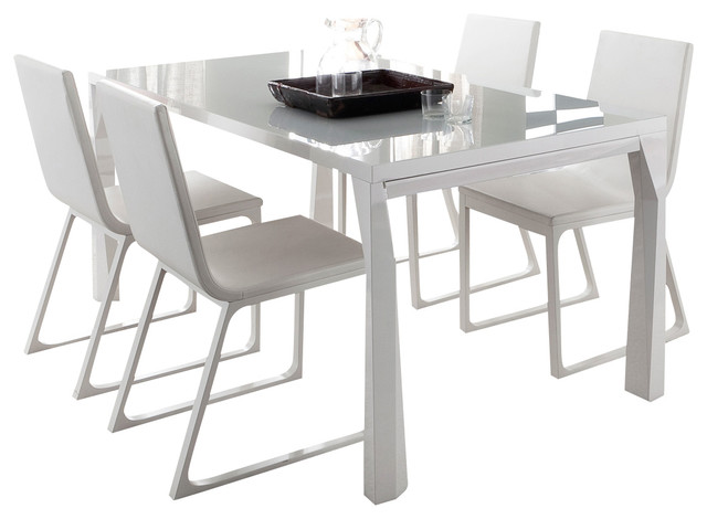 sapphire prisma extendable dining table modern-dining-tables OVLKMAZ
