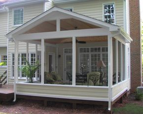 screened in porch ideas | porches raleigh | screened in porch builders | YWTBKFR