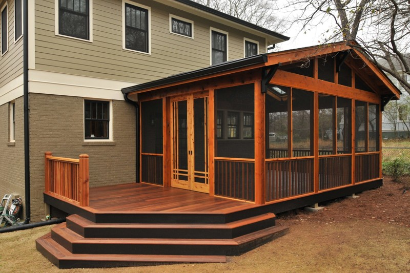 screened in porch making your screened porch stand out VDLSFNO