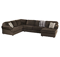 sectional sofas with recliners jessa place 3-piece sectional VGVKYVV