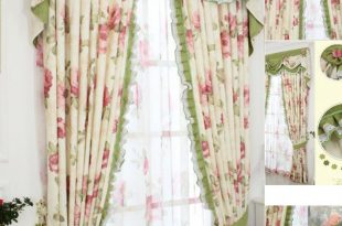 shabby chic curtains shabby chic curtain with floral pattern and green color ETHYHFX