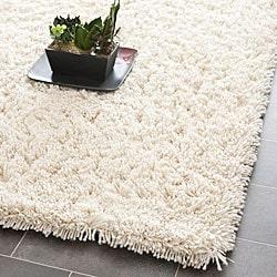 shag rugs safavieh classic ultra handmade ivory shag rug (2u0027 x 3u0027) PIRABCM